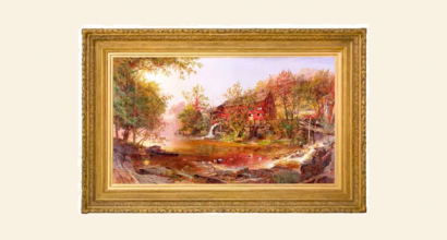 Chrysler Museum of Art Framing a Monumental Cropsey