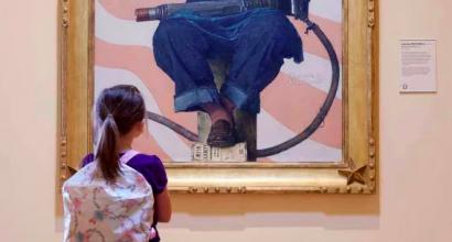 Crystal Bridges Museum- The Framing of Rosie the Riveter
