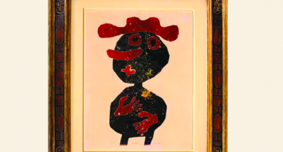Dubuffet & Scully - Antique Frames on Contemporary Art