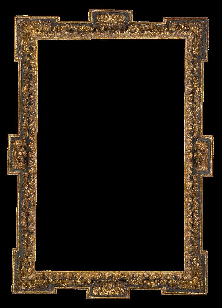 Spanish 17th Century Black Extended Frame