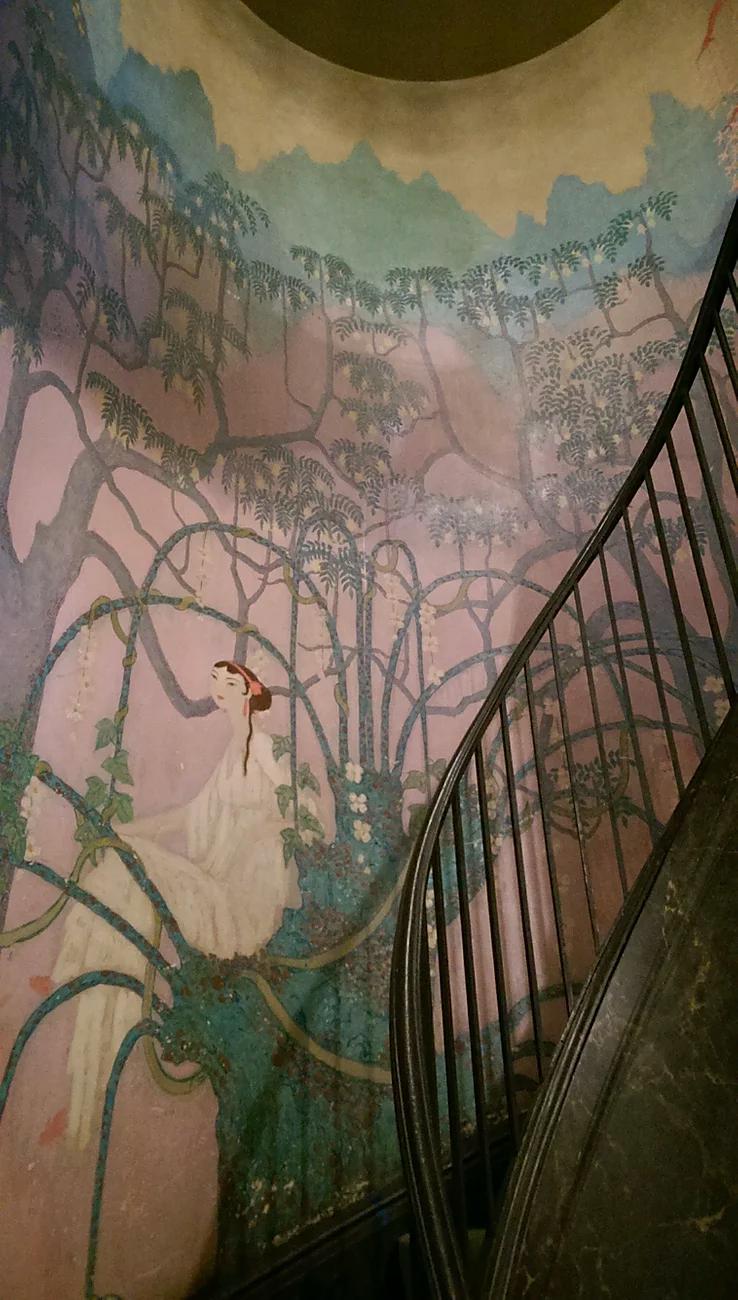 Lowy Resurrects the Whitney Studio Mural by Howard Gardiner Cushing