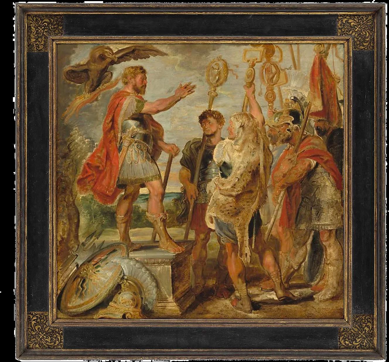 National Art Gallery Framing a Heroic Scene by Rubens
