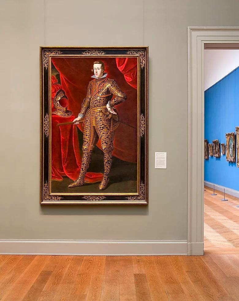 Prado Museum A Frame Fit for a King