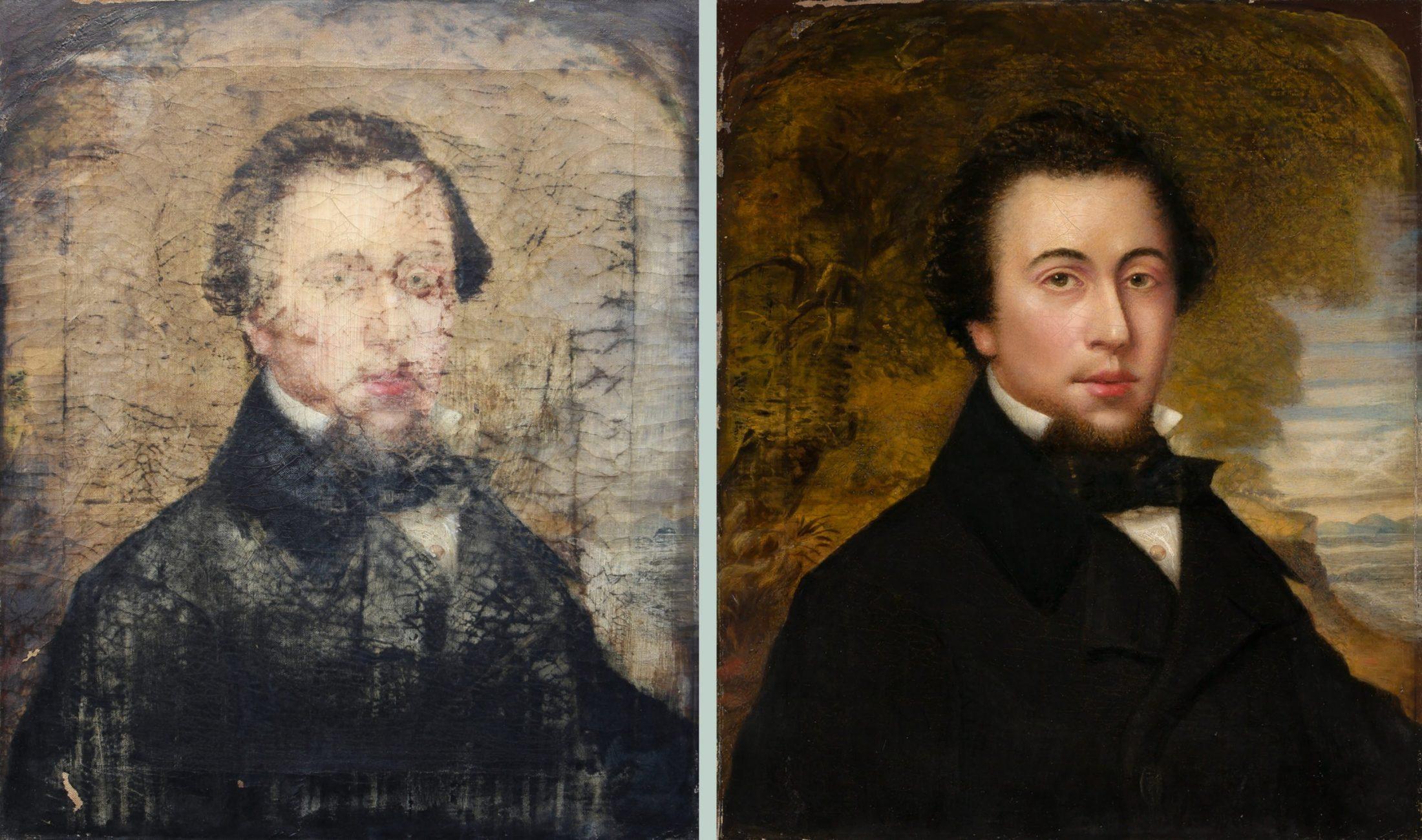 Resurrection for a Beloved Portrait